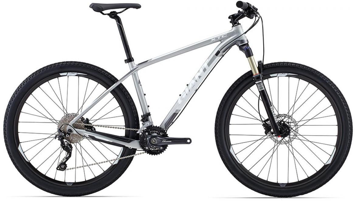 Велосипед горный Giant XtC 1 2015, цвет: серый, рама 20, колесо, 27,5134974