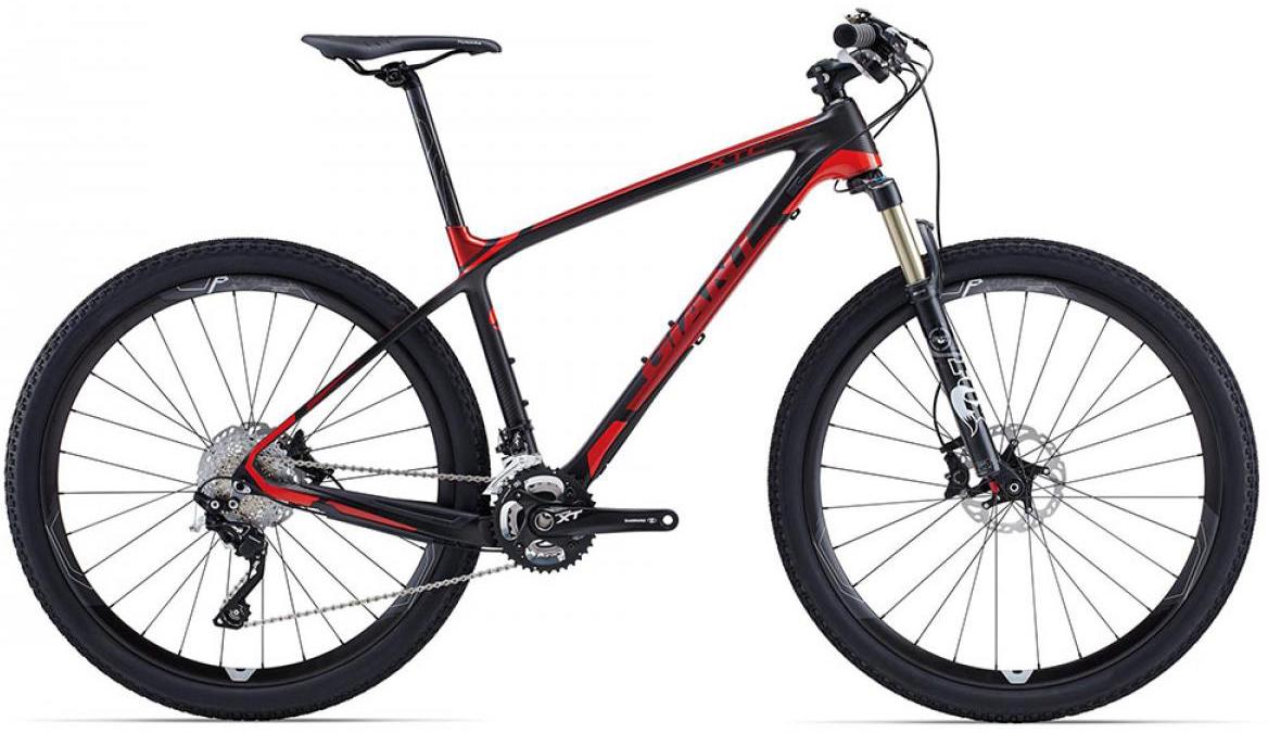 Велосипед горный Giant XtC Advanced 1 2015, цвет: красный, рама 22, колесо, 27,5134984