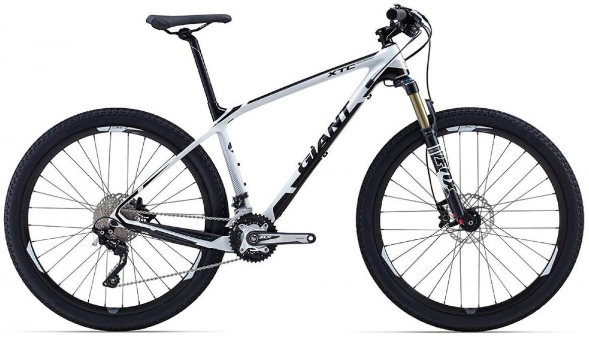 Велосипед горный Giant XtC Advanced 2 2015, цвет: белый, рама 20, колесо, 27,5134985
