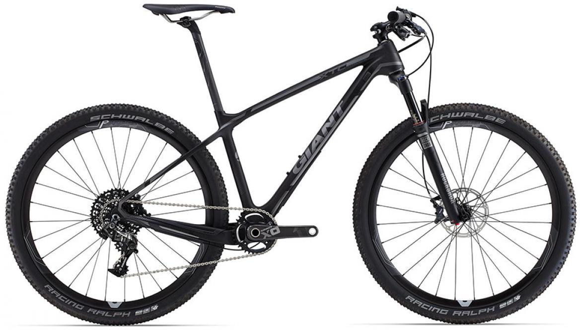 Велосипед горный Giant XtC Advanced SL 1 2015, цвет: серый, рама 16, колесо, 27,5134998