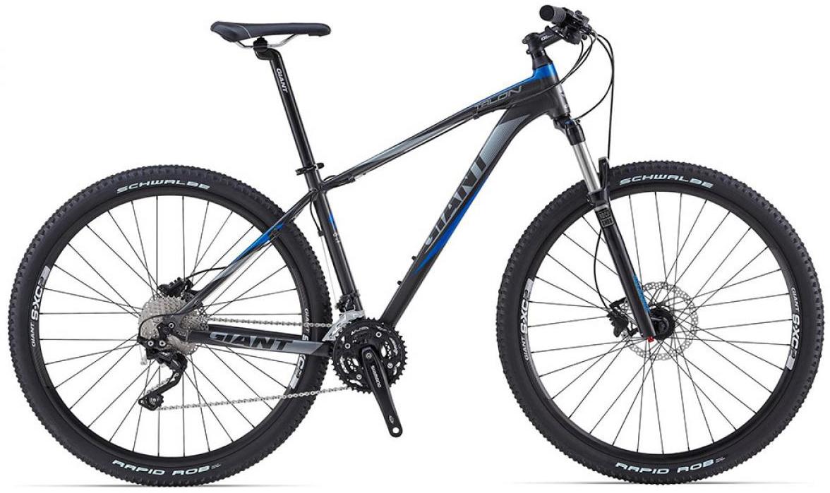 Велосипед горный Giant Talon 1 2015, цвет: черный, рама 20, колесо, 29135025