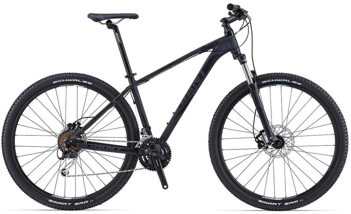 Велосипед горный Giant Talon 2 2015, цвет: черный, рама 20, колесо, 29135029