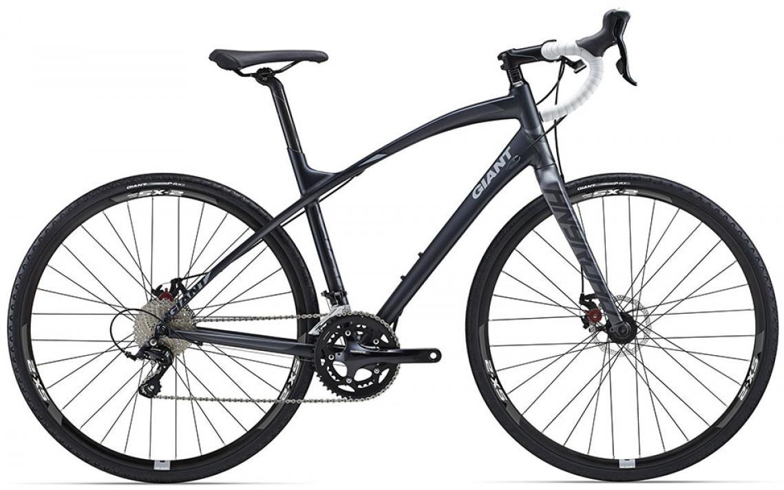 Велосипед шоссейный Giant AnyRoad 1 2015, цвет: черный, рама 18, колесо 28. 0135039135039