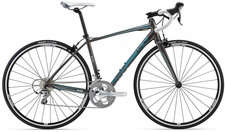 Велосипед женский Giant Avail 2 (compact) 2015, цвет: черный, рама 14,5, колесо 28135046