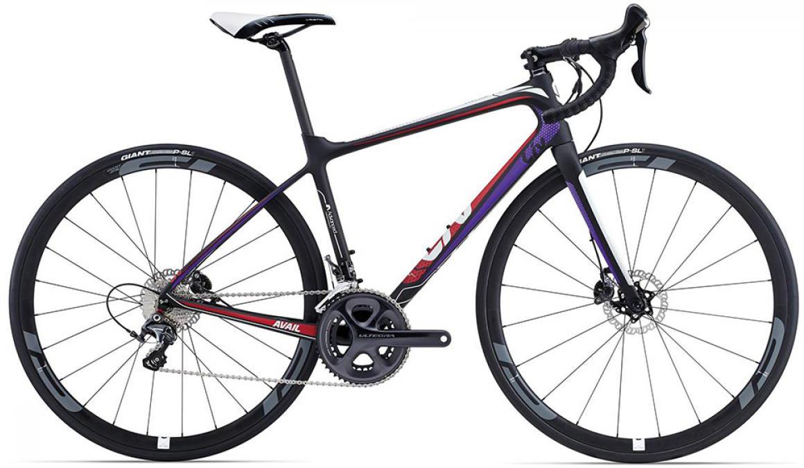 Велосипед женский Giant Avail Advanced Pro 2015, цвет: черный, рама 14,5, колесо 28135060