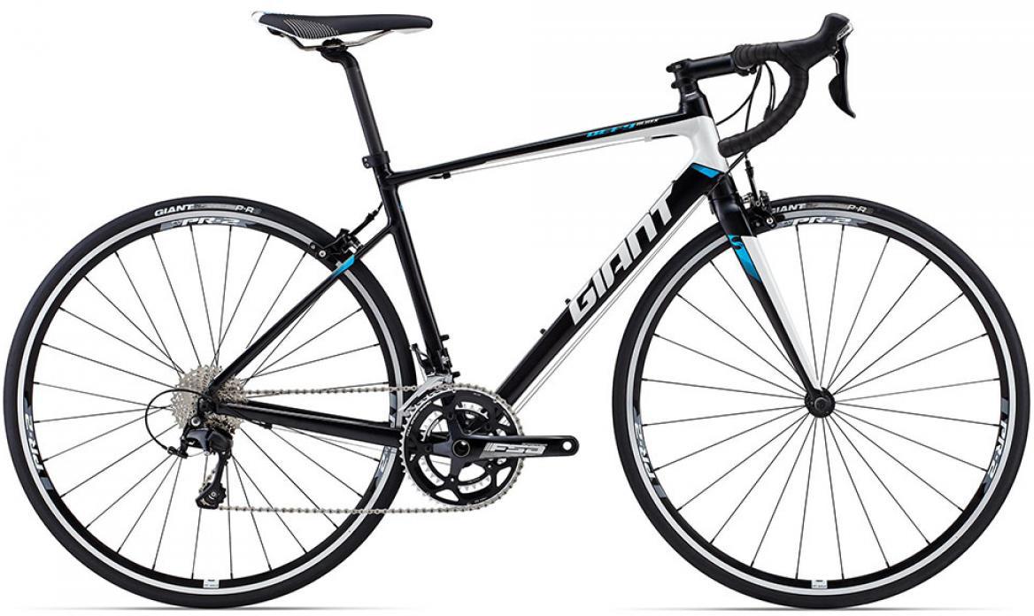 Велосипед шоссейный Giant Defy 1 (compact) 2015, цвет: черный, рама 16, колесо 28135067