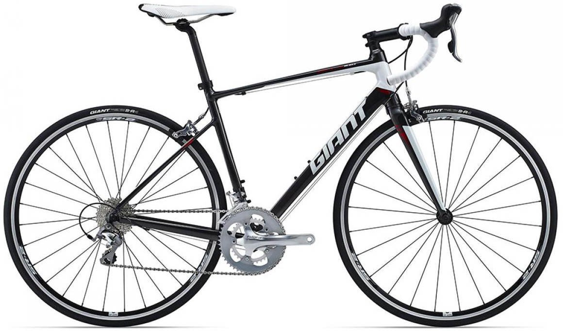 Велосипед шоссейный Giant Defy 2 (compact) 2015, цвет: серый, рама 20, колесо 28135069