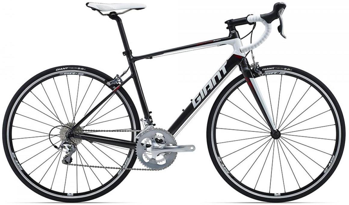 Велосипед шоссейный Giant Defy 2 (compact) 2015, цвет: серый, рама 19, колесо 28135071