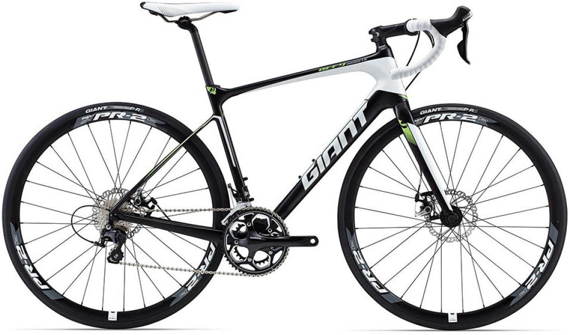 Велосипед шоссейный Giant Defy Advanced 2 2015, цвет: белый, рама 20, колесо 28135079