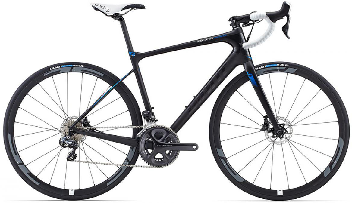 Велосипед шоссейный Giant Defy Advanced Pro 0 2015, цвет: черный, рама 22, колесо 28135093