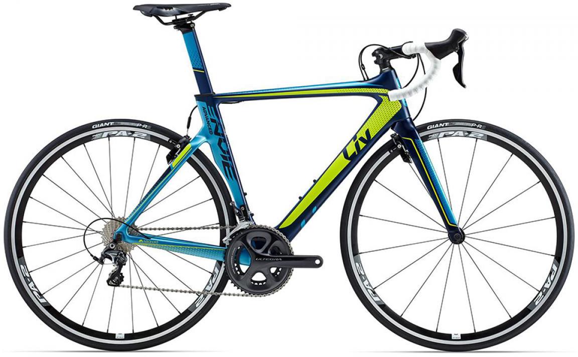Велосипед женский Giant Envie Advanced 1 2015, цвет: синий, рама 14,5, колесо 28135109