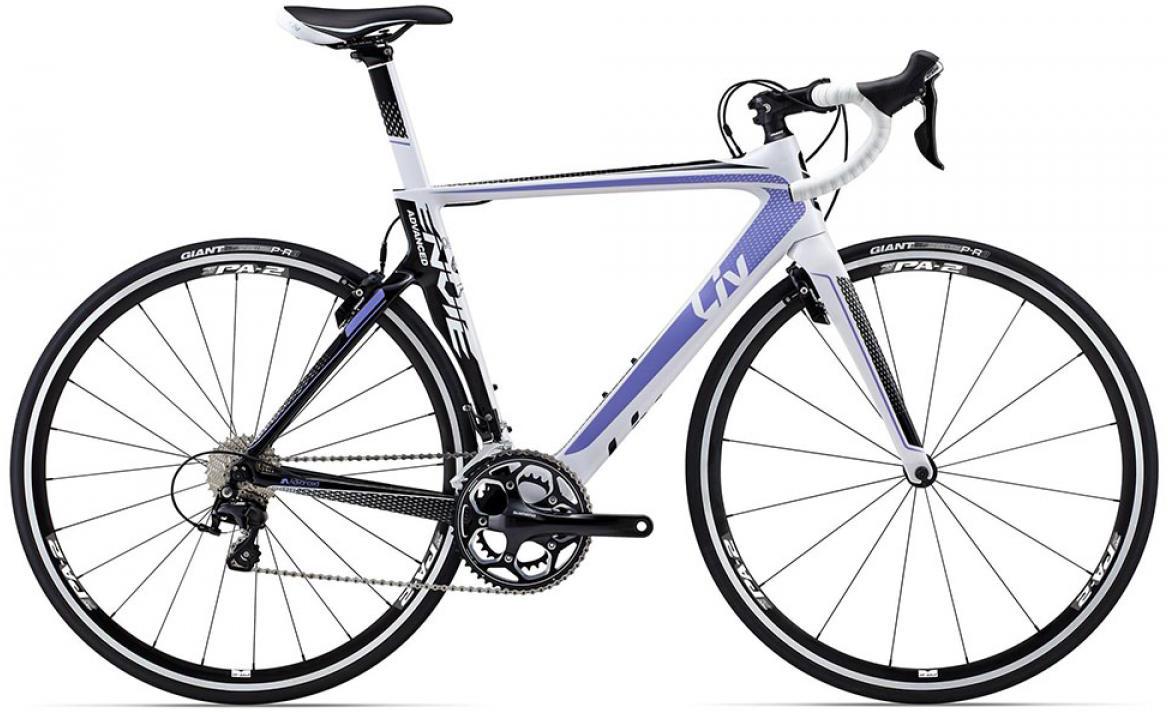 Велосипед женский Giant Envie Advanced 2 2015, цвет: белый, рама 20, колесо 28135110