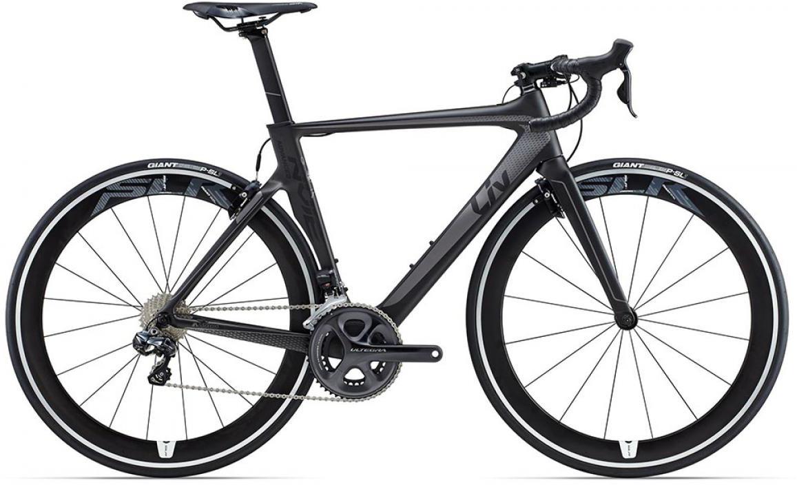 Велосипед женский Giant Envie Advanced Pro 1 2015, цвет: черный, рама 18, колесо 28135114