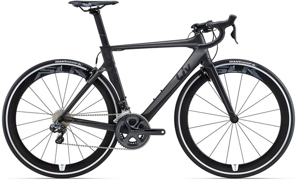 Велосипед женский Giant Envie Advanced Pro 1 2015, цвет: черный, рама 16, колесо 28135115