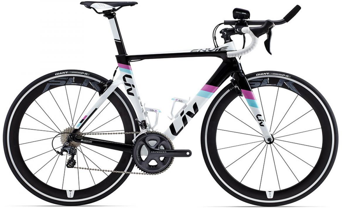 Велосипед женский Giant Envie Advanced TRI 2015, цвет: белый, рама 18, колесо 28135117