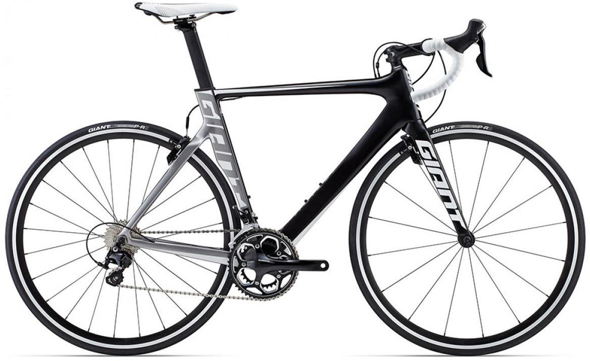 Велосипед шоссейный Giant Propel Advanced 2 2015, цвет: черный, рама 18, колесо 28. 0135143135143