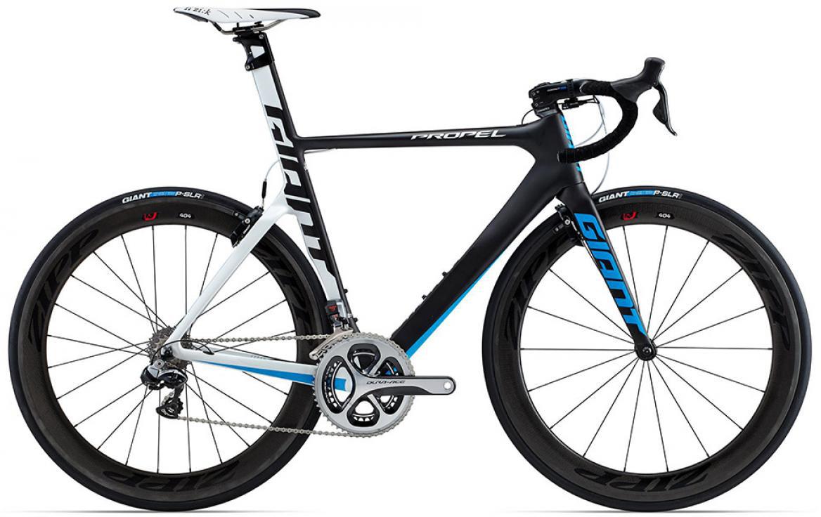 Велосипед шоссейный Giant Propel Advanced SL 0 2015, цвет: белый, рама 18, колесо 28135153