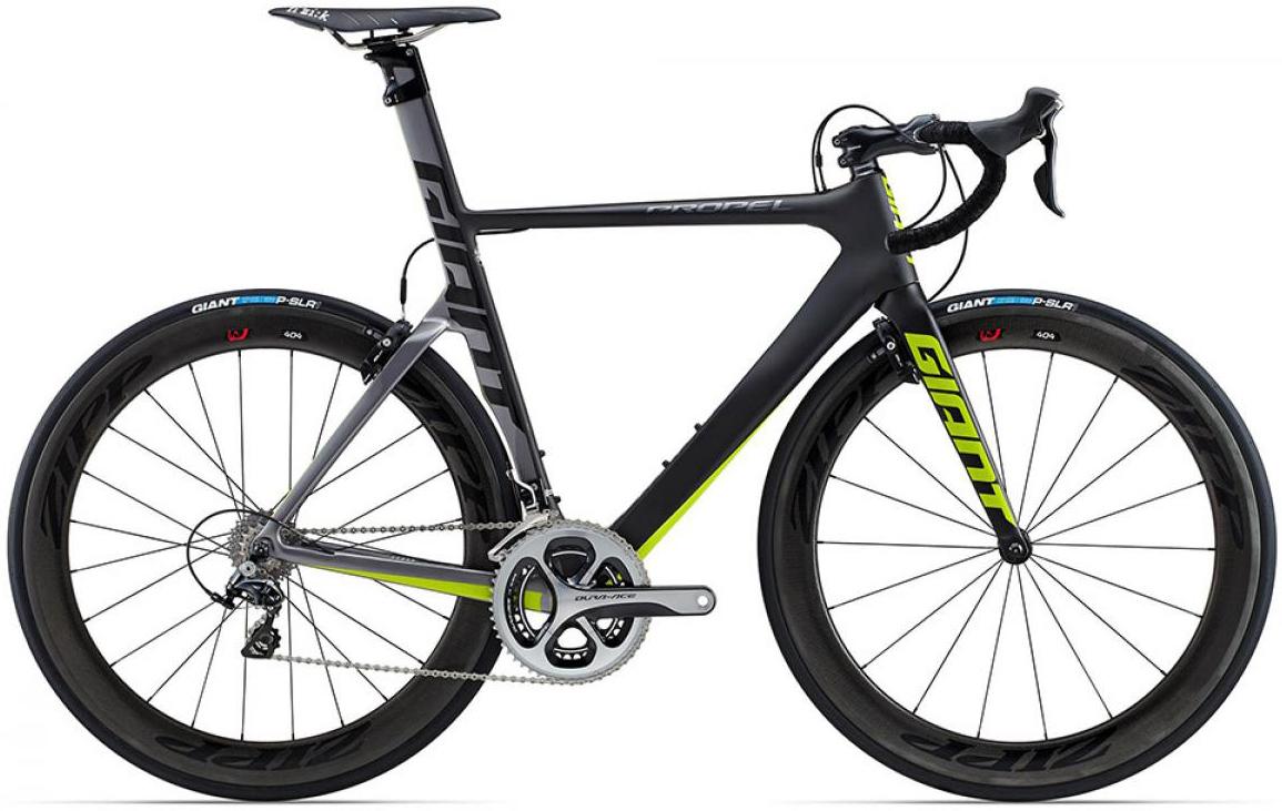 Велосипед шоссейный Giant Propel Advanced SL 1 2015, цвет: серый, рама 16, колесо 28135159