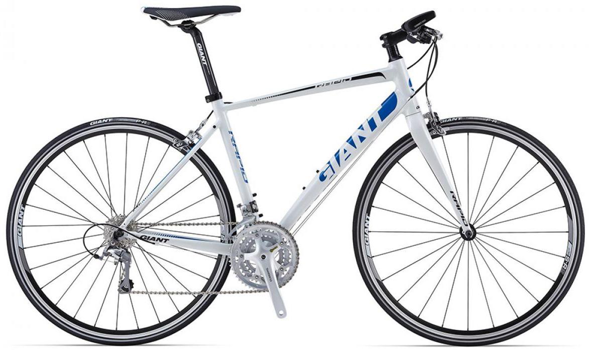 Велосипед шоссейный Giant Rapid 2 triple 2015, цвет: белый, рама 18, колесо 28. 0135162135162