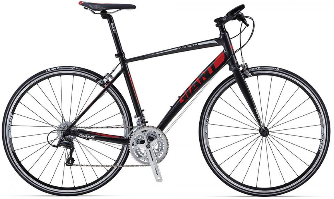 Велосипед шоссейный Giant Rapid 3 triple 2015, цвет: серый, рама 18, колесо 28. 0135168135168