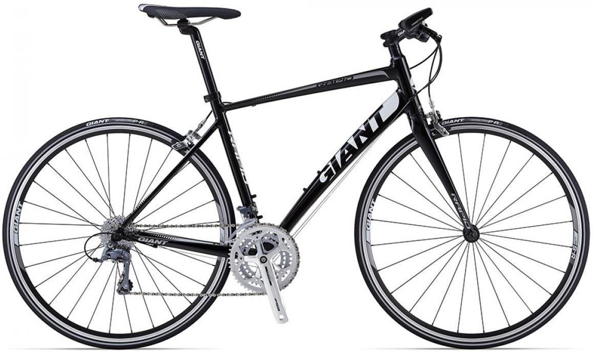 Велосипед шоссейный Giant Rapid 4 triple 2015, цвет: черный, рама 18, колесо 28. 0135172135172