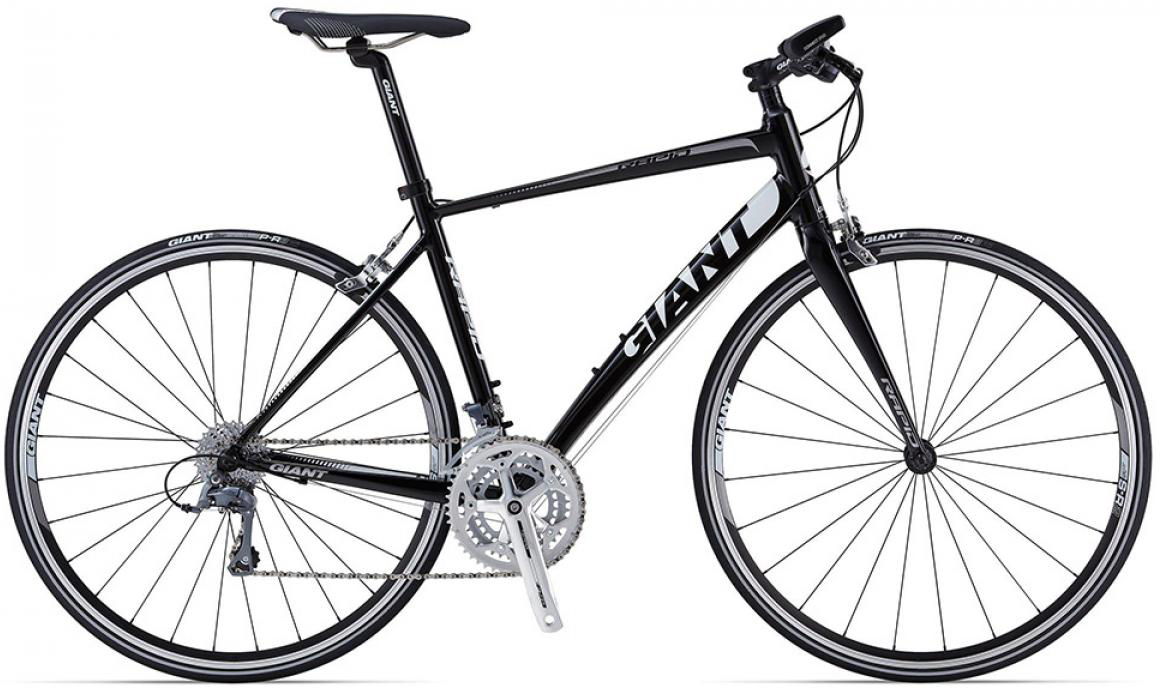Велосипед шоссейный Giant Rapid 4 triple 2015, цвет: черный, рама 18, колесо 28. 0135173135173