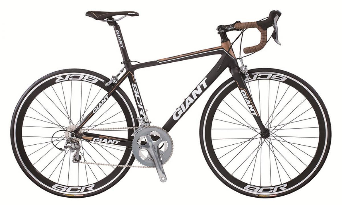 Велосипед шоссейный Giant SCR 0 2015, цвет: черный, рама 17, колесо 28135176