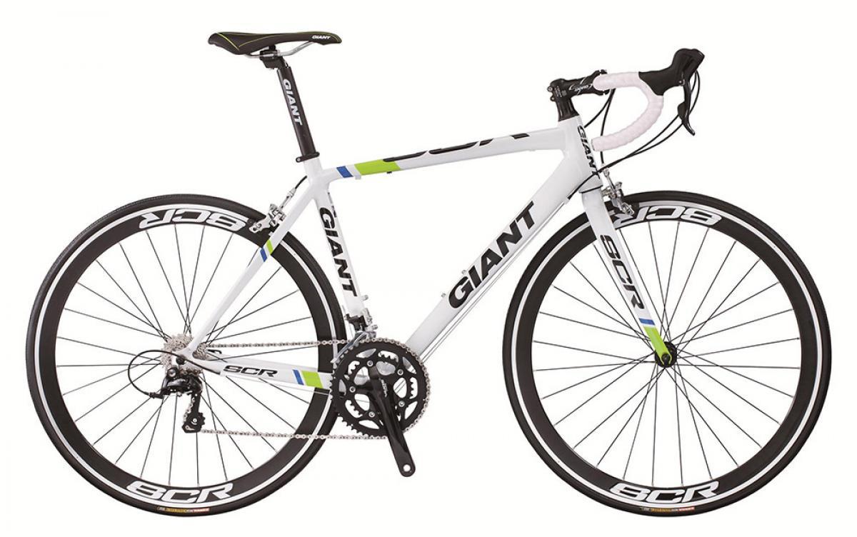 Велосипед шоссейный Giant SCR 1 2015, цвет: белый, рама 14,5, колесо 28135183