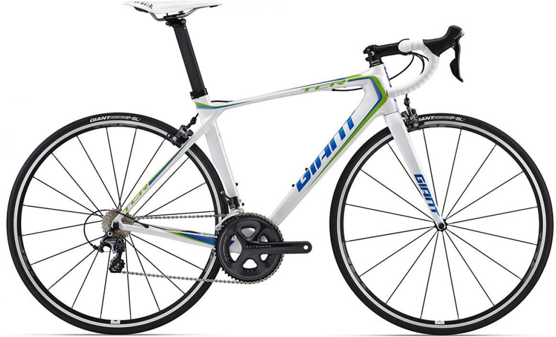 Велосипед шоссейный Giant TCR Advanced Pro 1 2015, цвет: белый, рама 18, колесо 28. 0135200135200