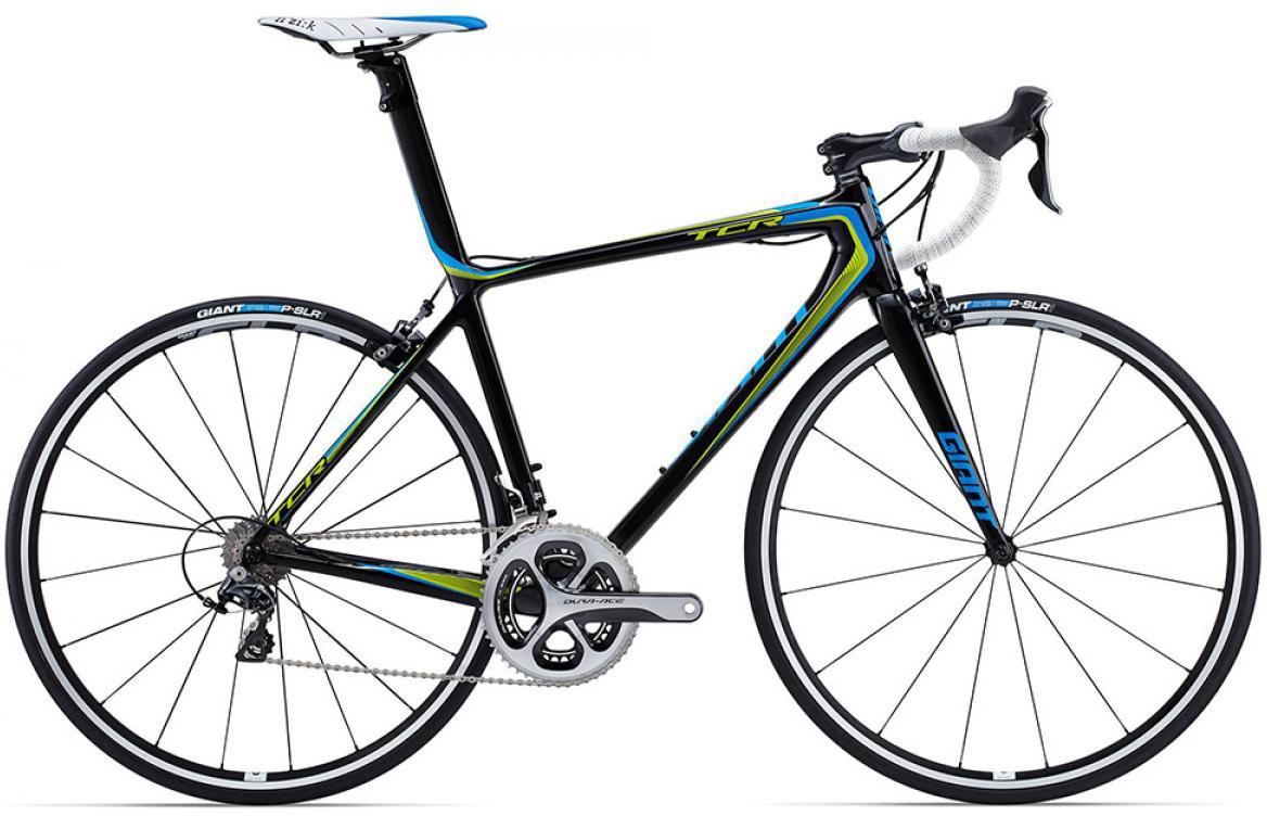 Велосипед шоссейный Giant TCR Advanced SL 1 2015, цвет: синий, рама 18, колесо 28135207
