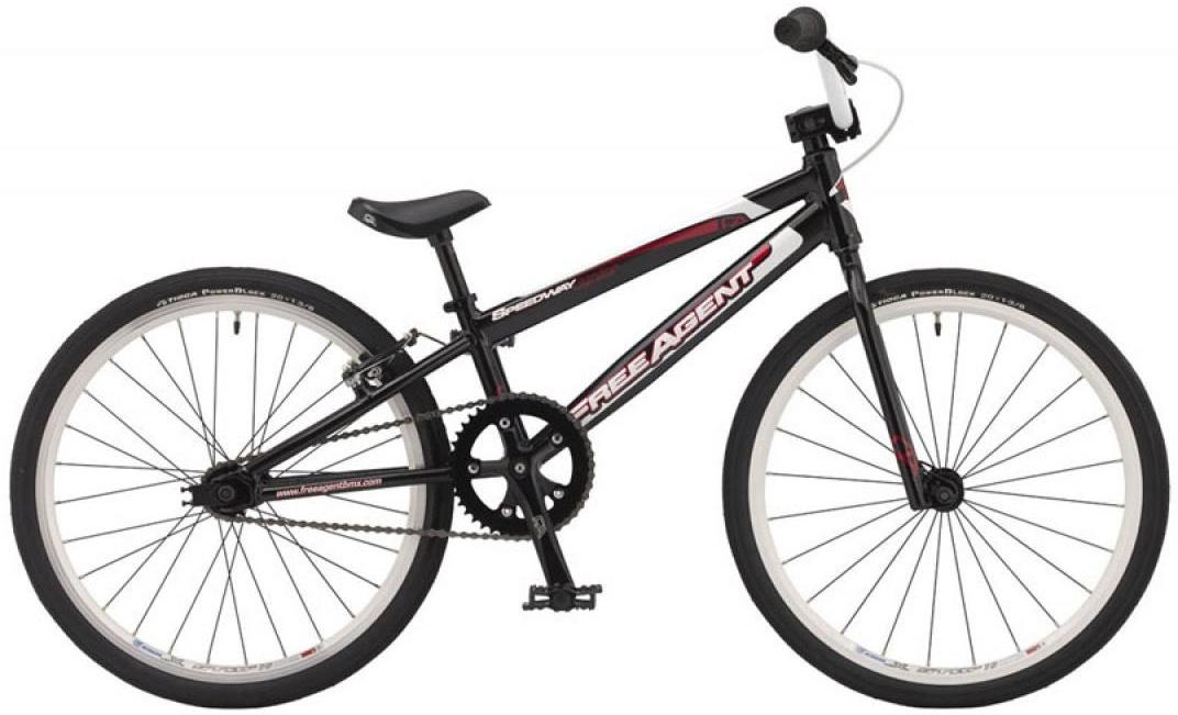 Велосипед детский Freeagent Speedway junior 2015, цвет: черный, колесо 20212997