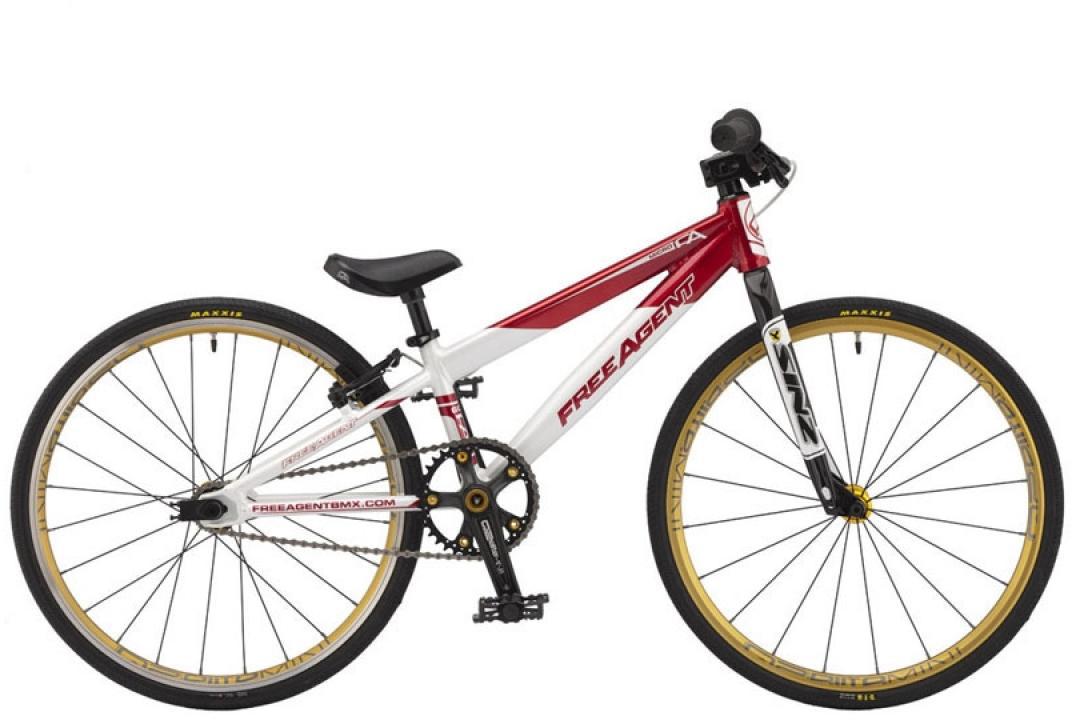 Велосипед BMX Freeagent Team micro 2015, цвет: красный, колесо 20212999