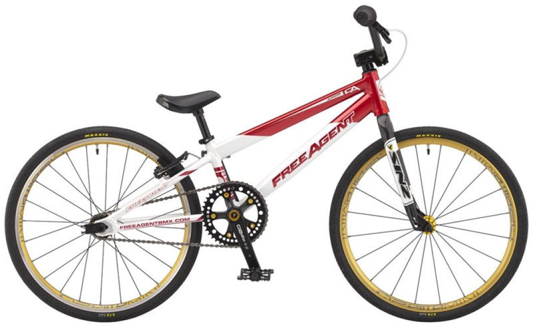 Велосипед BMX Freeagent Team junior 2015, цвет: красный, колесо 20213001