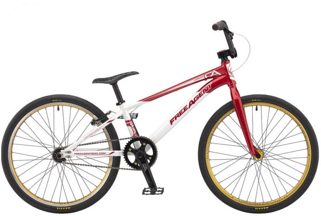 Велосипед BMX Freeagent Team limo 2015, цвет: красный, колесо 24213004