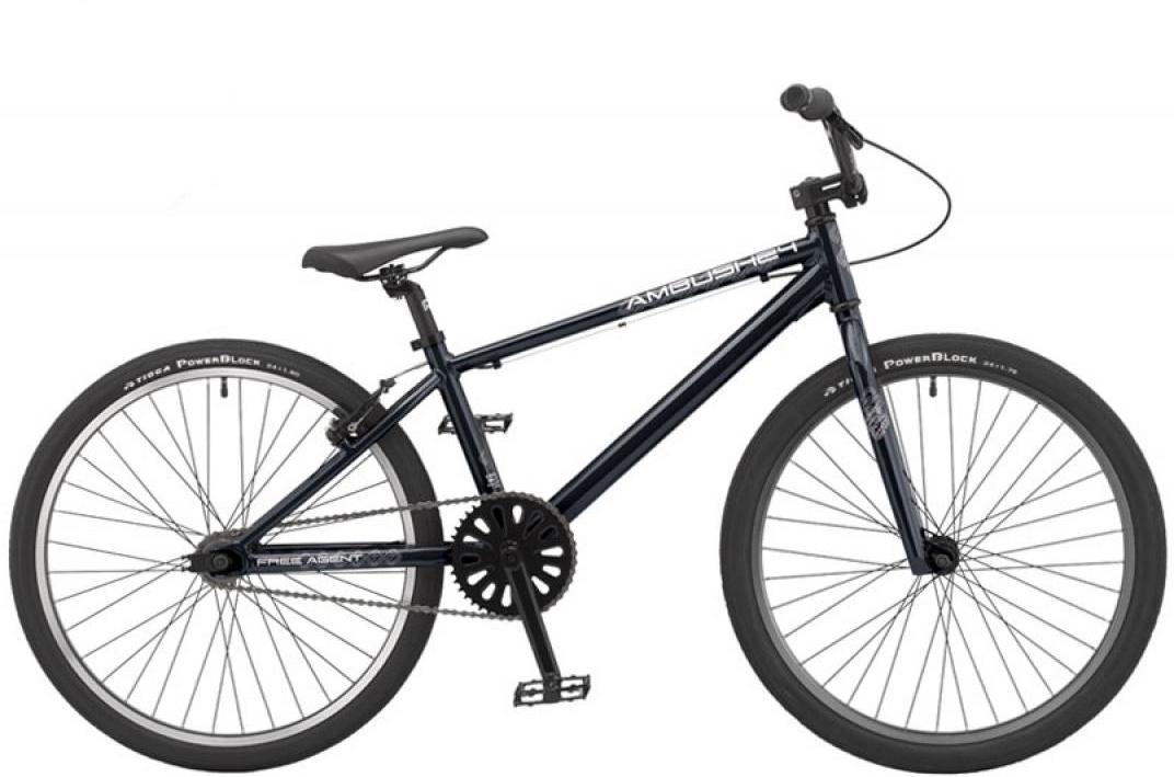 Велосипед BMX Freeagent Speedway 2015, цвет: черный, колесо 24. 0213033213033
