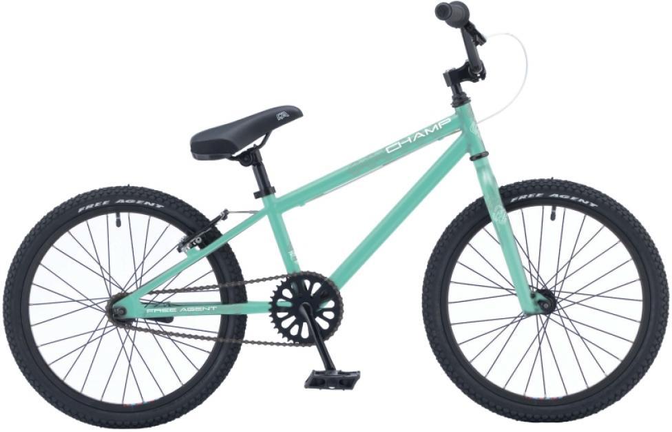 Велосипед BMX Freeagent Champ girl 2015, цвет: зеленый, колесо 20213037