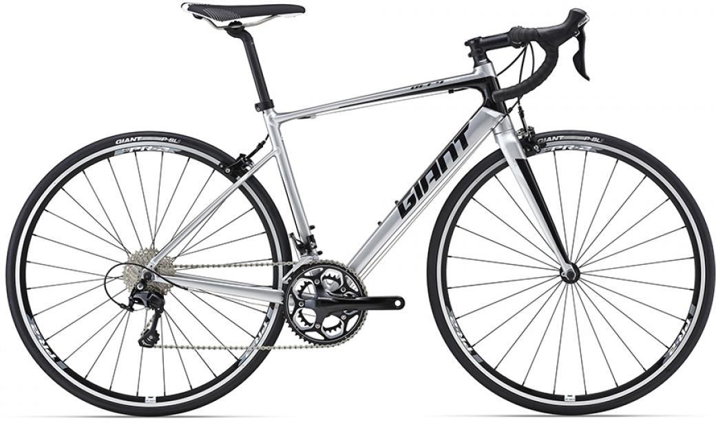 Велосипед шоссейный Giant Defy 1 2016, цвет: серый, рама 18, колесо 28. 0260067260067