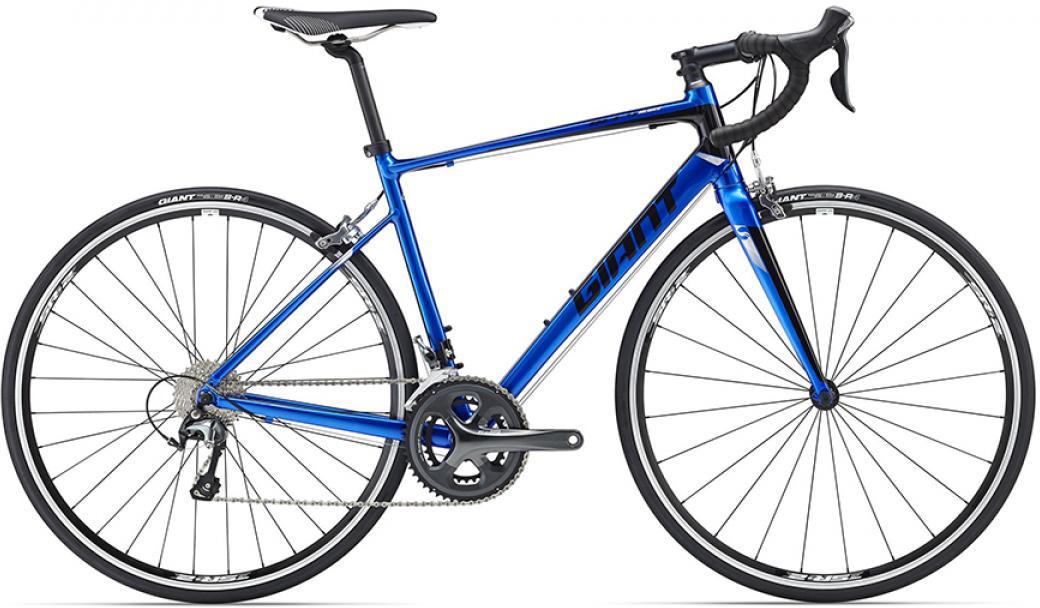 Велосипед шоссейный Giant Defy 2 2016, цвет: синий, рама 18, колесо 28. 0260072260072