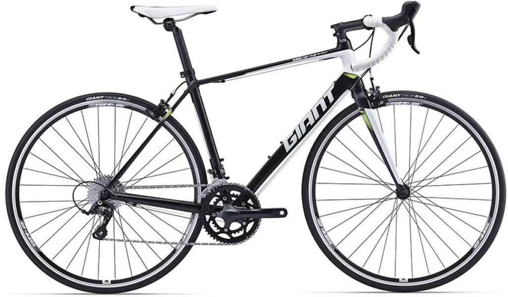 Велосипед шоссейный Giant Defy 3 2016, цвет: черный, рама 14,5, колесо 28260075
