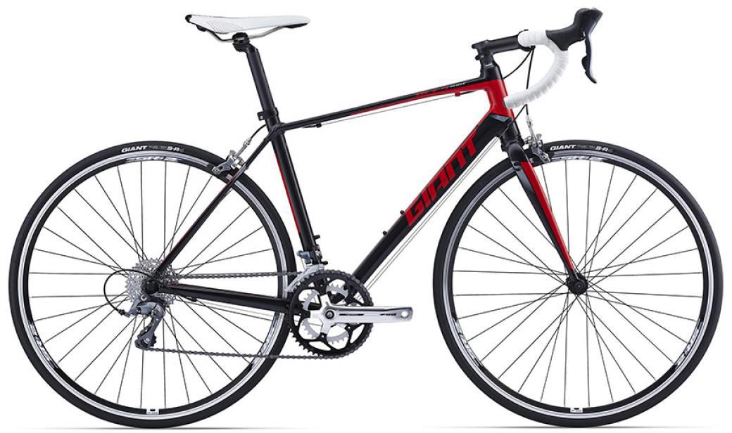 Велосипед шоссейный Giant Defy 5 2016, цвет: черный, рама 16, колесо 28260082