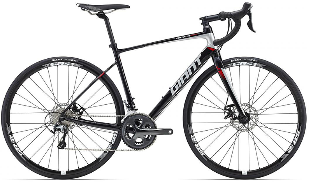 Велосипед шоссейный Giant Defy 2 Disc 2016, цвет: черный, рама 20, колесо 28260097