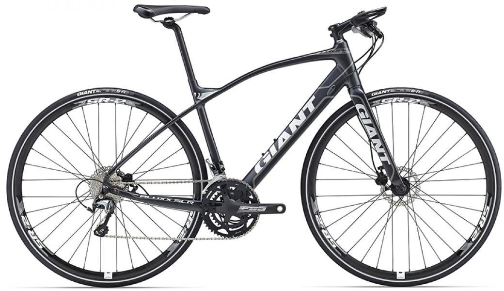 Велосипед шоссейный Giant FastRoad SLR 1 2016, цвет: черный, рама 18, колесо 28. 0260101260101