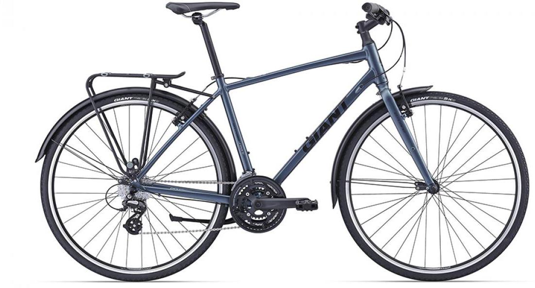 Велосипед городской Giant Escape 2 2016, цвет: синий, рама 22, колесо 28260107