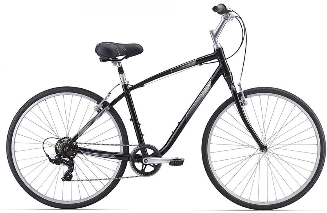Велосипед городской Giant Cypress 2016, цвет: черный, рама 20, колесо 28260115