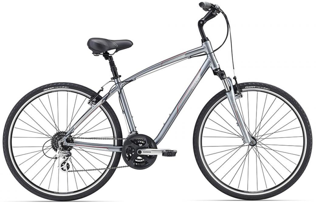 Велосипед городской Giant Cypress DX 2016, цвет: серый, рама 20, колесо 28260118