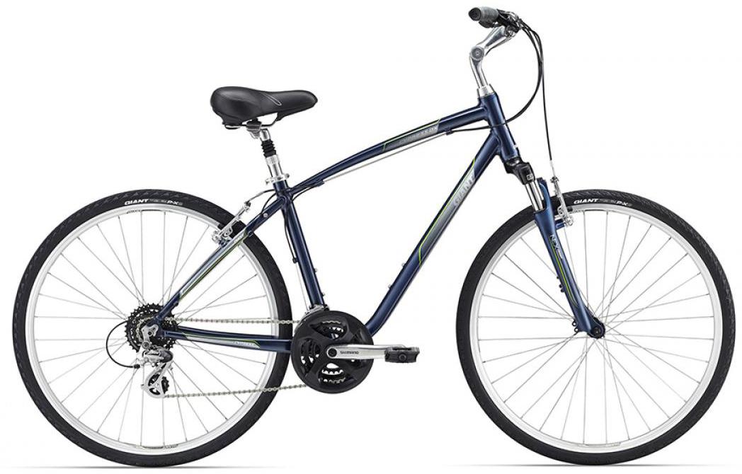 Велосипед городской Giant Cypress DX 2016, цвет: синий, рама 16, колесо 28260119