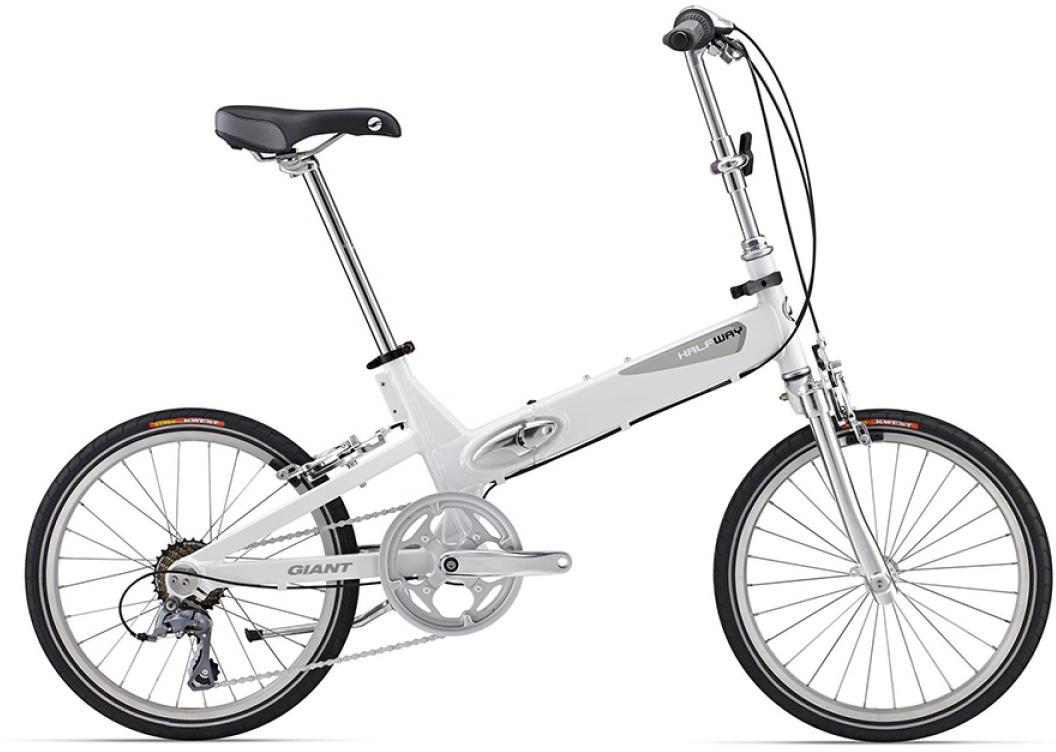 Велосипед детский Giant Halfway 2016, цвет: белый, колесо 20