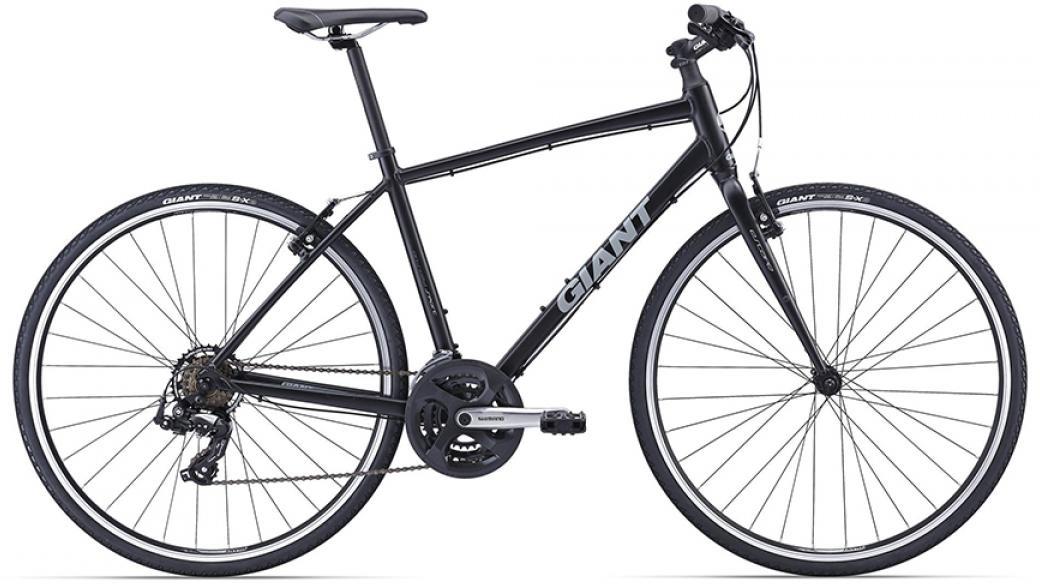 Велосипед городской Giant Escape 3-West 2016, цвет: черный, рама 20, колесо 28260152