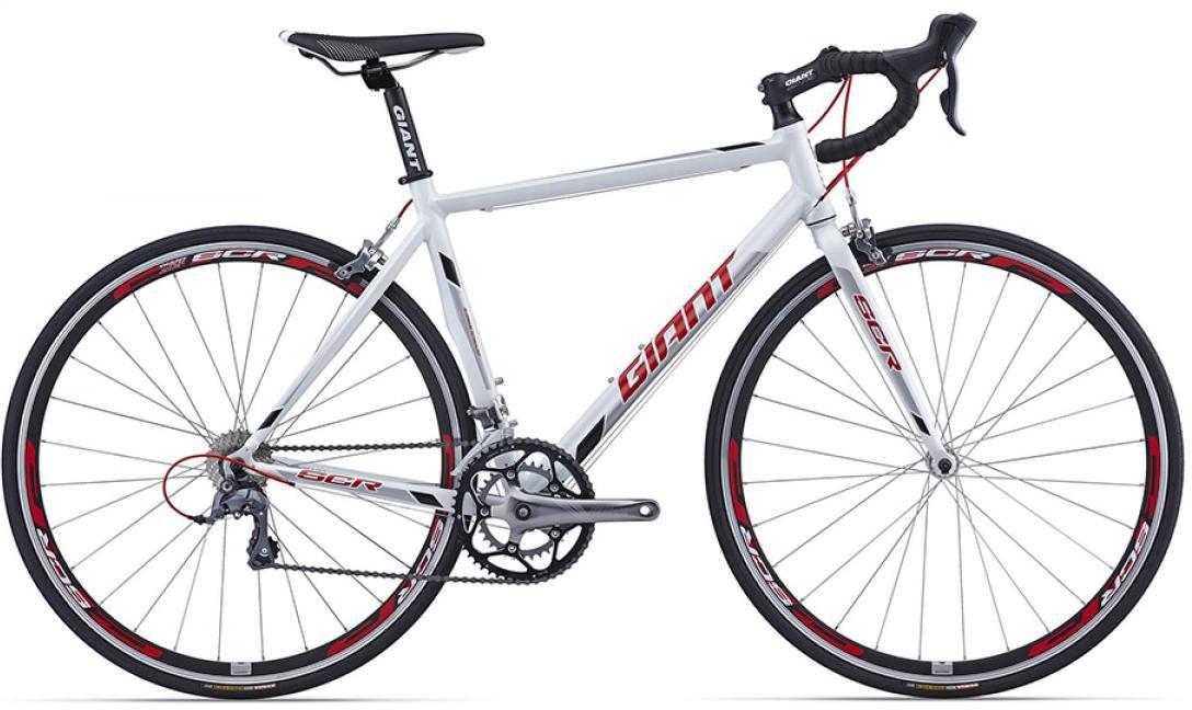 Велосипед шоссейный Giant SCR 2 2016, цвет: белый, рама 18, колесо 28260187