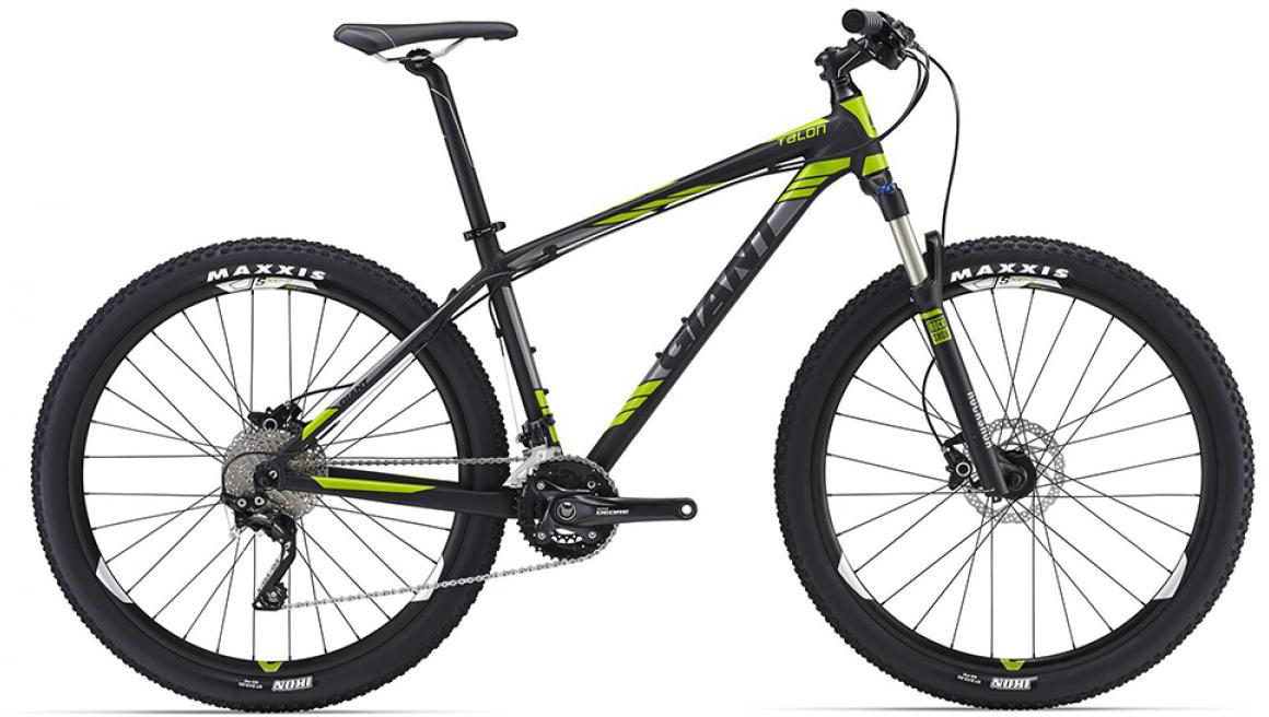 Велосипед горный Giant Talon 1 2016, цвет: черный, рама 18, колесо, 27,5260201